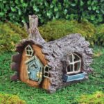 Fiddlehead Log Fairy House