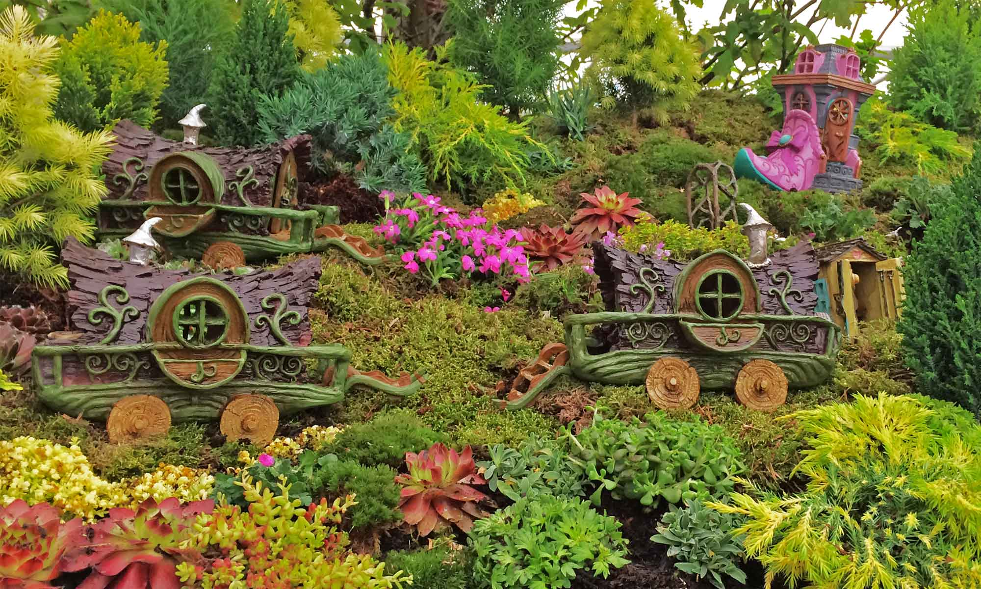 The Fiddlehead Fairy Garden